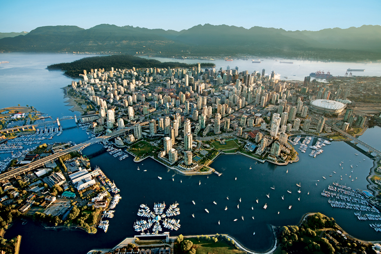 vancouver aerial