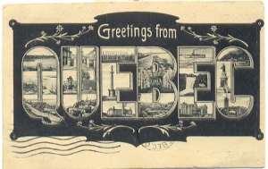 greeting card quebec