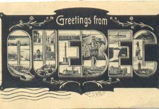 greeting card quebec