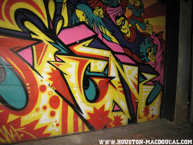 montréal graffiti session nocturne