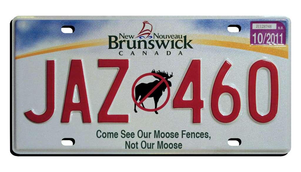 new brunswick plate