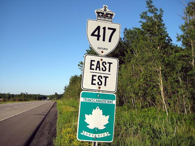 autoroute canada