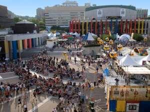 place des festivals