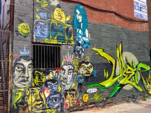 rush lane graffiti alley