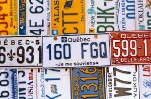 plaques canadiennes