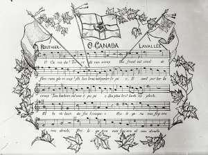 hymne canada