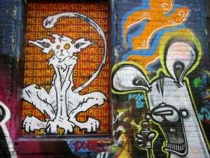 street art graffiti alley