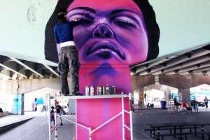 art de rue underpass park