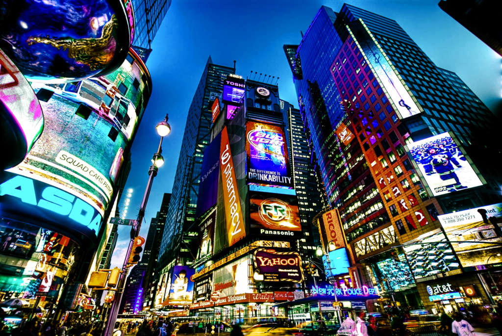 grosse pomme times square