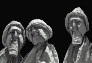 des visages des figures