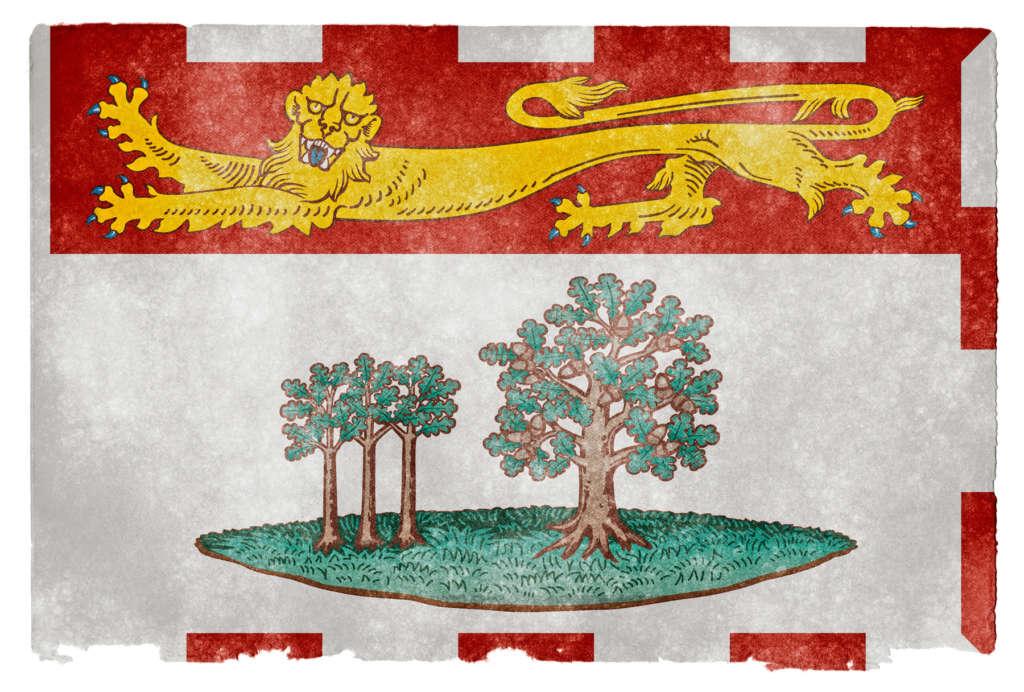 drapeau île du prince edouard
